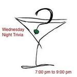 Wednesday night Trivia at Characters 7:00 to 9:00 pm.  General Trivia, prizes and lots of fun.